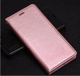 プラスiPhone 7のための直接工場製造者最新のデザイン革PUの携帯電話の箱