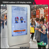 Alibaba chinesischer Lieferant, der Standplatz-Kiosk-im Freienbildschirmanzeige bekanntmacht