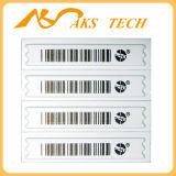 Etiqueta de código de barras do alarme de segurança do produto do Dr. Ser Rotulagem Contra-roubo Segurança