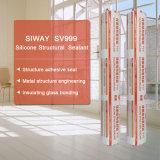 Sellante estructural excelente del silicón para la gran pared de cortina de cristal