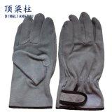 Kuh-aufgeteiltes Leder-Arbeits-Schweißhandschuhe für Schutz