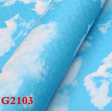 Paño de pared, papel pintado del PVC, Wallcovering, papel de empapelar, tela de la pared del PVC, solando la hoja, solando el rodillo, papel pintado