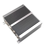 2*LAN Intel Haswell U-Serien I3/I5/I7 CPU-Fanless eingebetteter Minikasten PC-industrieller PC
