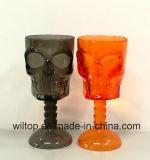 Halloween sortierte Plastikschädel-Becher (HW002)
