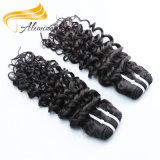 Weave brasileiro do cabelo do Virgin do vison barato do pacote do cabelo humano