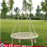Cadeira do Hammock de Hademade da corda da cor
