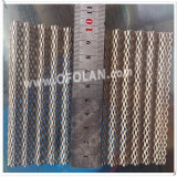 Elétrodo Titanium Especial-Shaped engranzamento expandido para galvanizar