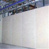 内壁の区分(天井)の金属によって電流を通される軽い鋼鉄キール