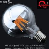 Bulbo do diodo emissor de luz Edison da lâmpada de filamento do diodo emissor de luz G80