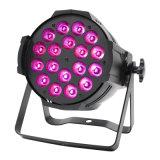 PAR64 18X10W RGBW 4in1 LED 동위 빛