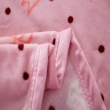 Cute Micro Soft Plush Mink Blanket for Girl Room