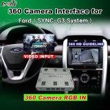 Interfaccia di panorama 360 & di retrovisione per il bordo Ecosport ecc di Kuga del Taurus di fusione del fuoco di festa del Ford con lo schermo del getto dell'input di segnale del sistema Lvds RGB di sincronizzazione G3