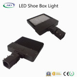Nova Design 100W 150W LED Shoe Box Light para uso ao ar livre