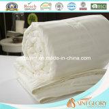 Cobertura de algodão puro e luxuoso Edredão lavável com edredão de seda