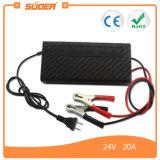 Chargeur de batterie rapide de Suoer avec le remplissage triphasé (SON-2420B)