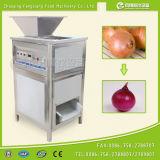 Máquina de casca automática da cebola de Fx-128-3A, pele de cebola Peeler, máquina de casca da cebola da potência de ar