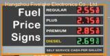 Signe de commutateur de prix du gaz de 12 pouces DEL (TT30S-4R)