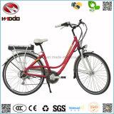 Изготовление 250W En15194 продает электрический корабль оптом тормоза E-Bike v педали велосипеда индикации СИД батареи лития Bike города
