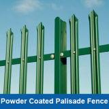 PVC 입히는 Palisade 담, 안전을%s 검술하는 색깔 Palisade, 분말 코팅 Palisade 강철 담