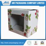 Repli mat boîte en carton de cadeau de 1 partie pour l'étalage de empaquetage cosmétique