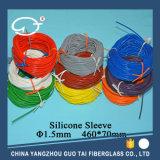Silikon-Gummi-überzogenes Fiberglas Sleeving