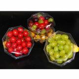 Caixa Octagonal da bolha da salada da fruta para fatias da fruta fresca