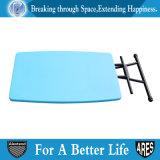 طيّ خارجيّة شخصيّة قابل للتعديل طاولة اللون الأزرق