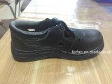 Chaussure de Saferty de santal de cuir fendu pour l'été
