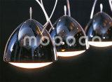고도 조정가능한 까만 금속 및 침대 헤드를 위한 유연한 조지 하락 10W LED 독서 빛을 점화하는 현대 디자인