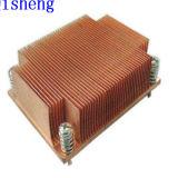 Het afschaven Heatsink, het Materiaal van het Aluminium of van het Koper