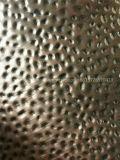 Hammer-vorbildliche Metallblaue Farben-dekoratives Edelstahl-Blatt