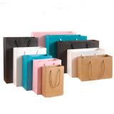 Sacchetto promozionale di carta su ordinazione, stampa d'imballaggio del sacchetto del regalo