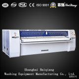 Máquina passando da lavanderia industrial popular de Flatwork Ironer do Dobro-Rolo