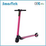 Scooter électrique de fibre urbaine de carbone de Smartek Patinete Electrico avec la batterie au lithium le S-020 pliable le plus léger