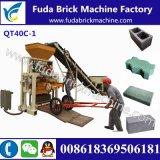 Kleine Maschinen-konkrete Ziegeleimaschine des Block-Qt40c-1