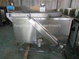 Chauffage électrique semi-automatique faisant frire la machine de friteuse pour des poissons de puces de casse-croûte de nourriture