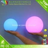 Lampe en plastique de Tableau de lumière de bille de DEL