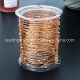 銅の銀3ワイヤーXmasのためのリモート・コントロール点滅の薄暗くなる米のホタルストリングライト