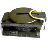 保護装置のマップのコンパスのQiblaの方位測定器のコンパスが付いているコンパス