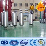 El tanque del aire del receptor de aire del almacenaje de aire