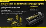 Li-ione universale astuto di vendita caldo 2016 di potere del USB dell'affissione a cristalli liquidi del caricabatteria di Vivismoke Nitecore Um10