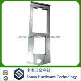 Het Aluminium dat van de precisie Niet genormaliseerd Vervangstuk CNC verwerkt die Delen machinaal bewerkt