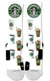 Starbuckspatten-Entwurfs-Sport-Auslese-Socken-Mann-Kleid-Socke