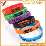 Wristband силикона логоса способа изготовленный на заказ/резиновый для спорта