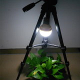 lanterna 2W solar portátil com o painel 1.8W solar