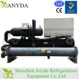 Tipo refrigerador do parafuso de Hanbell de água de refrigeração água do compressor