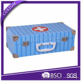 Empaquetage de boîte-cadeau de valise de papier de carton de modèle personnalisé par fantaisie