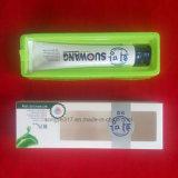 Bandeja verde da embalagem da bolha do dentífrico