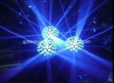La luz mágica de la bola cristalina del RGB 3in1 LED/la luz de la etapa/la luz para KTV, barra, efecto del efecto de Disco/LED enciende la luz de la etapa de iluminación de la luz LED de la pista del disco de DJ
