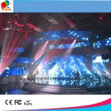 Visualización de LED video de la pared de la etapa HD del funcionamiento del alquiler P5 P4 P3